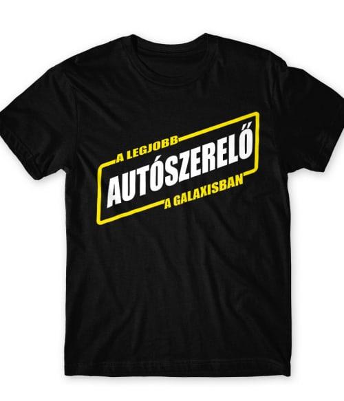 A legjobb autószerelő a galaxisban Póló - Ha Car Mechanic rajongó ezeket a pólókat tuti imádni fogod!