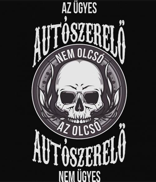 Az ügyes autószerelő nem olcsó Póló - Ha Car Mechanic rajongó ezeket a pólókat tuti imádni fogod!