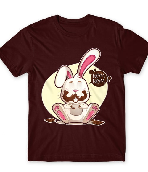 Nom nom bunny Póló - Ha Rabbit rajongó ezeket a pólókat tuti imádni fogod!