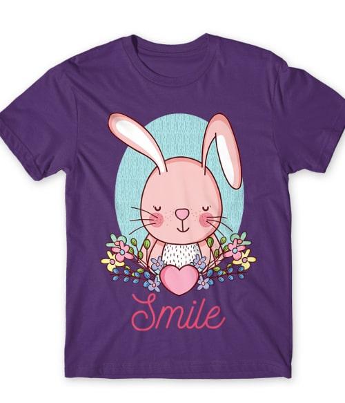 Smile bunny Póló - Ha Rabbit rajongó ezeket a pólókat tuti imádni fogod!