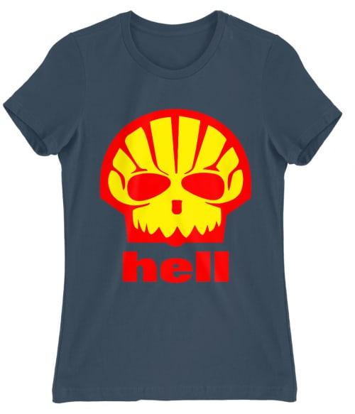 Shell Hell Póló - Ha Brand Parody rajongó ezeket a pólókat tuti imádni fogod!