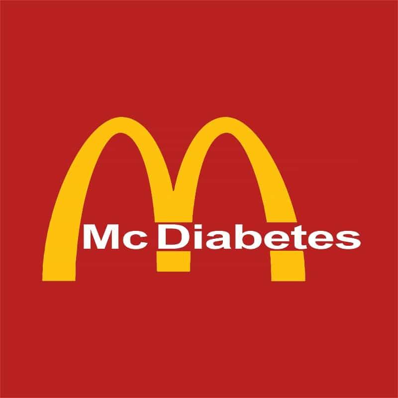Mc Diabetes Póló - Ha Brand Parody rajongó ezeket a pólókat tuti imádni fogod!