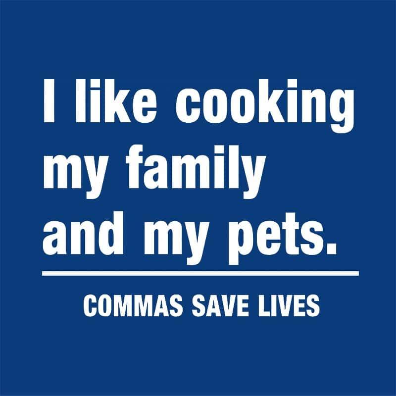 Commas save lives Póló - Ha Teacher rajongó ezeket a pólókat tuti imádni fogod!