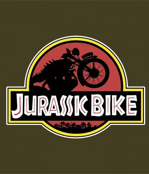 Jurassic bike Póló - Ha Motorcycle rajongó ezeket a pólókat tuti imádni fogod!