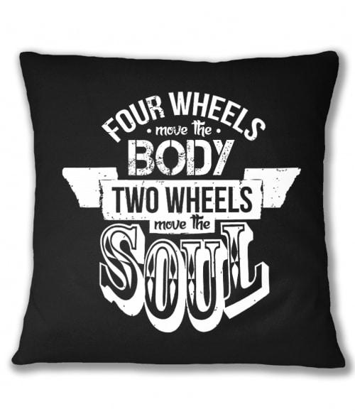 Two wheels  move the soul Póló - Ha Motorcycle rajongó ezeket a pólókat tuti imádni fogod!