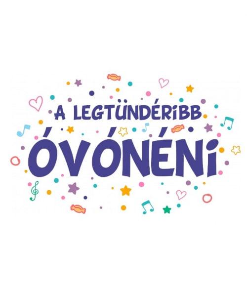 Legtündéribb óvónéni Póló - Ha Kindergarten Teacher rajongó ezeket a pólókat tuti imádni fogod!