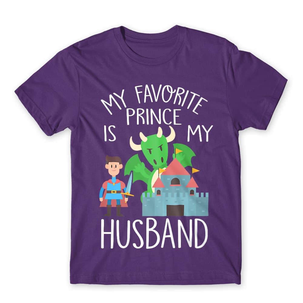 My favorite Prince is my husband Póló - Ha Couple rajongó ezeket a pólókat tuti imádni fogod!