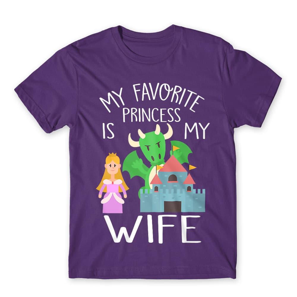 My favorite Princess is my Wife Póló - Ha Couple rajongó ezeket a pólókat tuti imádni fogod!