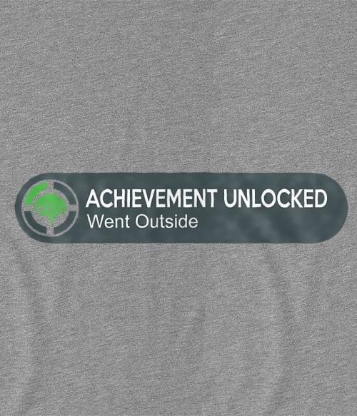 Achievement unlocked Póló - Ha Gamer rajongó ezeket a pólókat tuti imádni fogod!