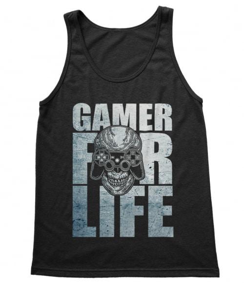Gamer for Life Póló - Ha Gamer rajongó ezeket a pólókat tuti imádni fogod!