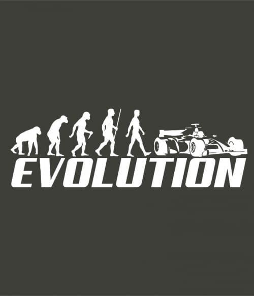 Formula 1 evolution Póló - Ha Formula 1 rajongó ezeket a pólókat tuti imádni fogod!