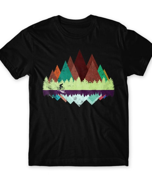 Bicycle forest Póló - Ha Bicycle rajongó ezeket a pólókat tuti imádni fogod!