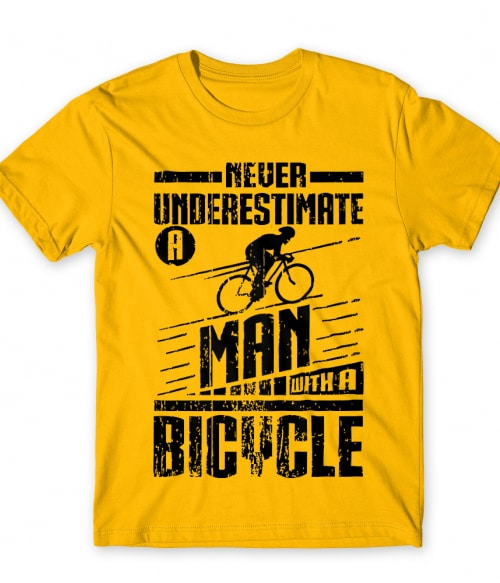 Man with a bicycle Póló - Ha Bicycle rajongó ezeket a pólókat tuti imádni fogod!