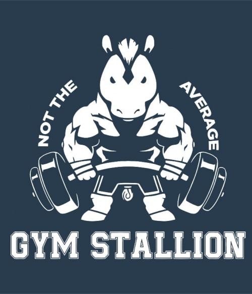Gym stallion Póló - Ha Horse rajongó ezeket a pólókat tuti imádni fogod!