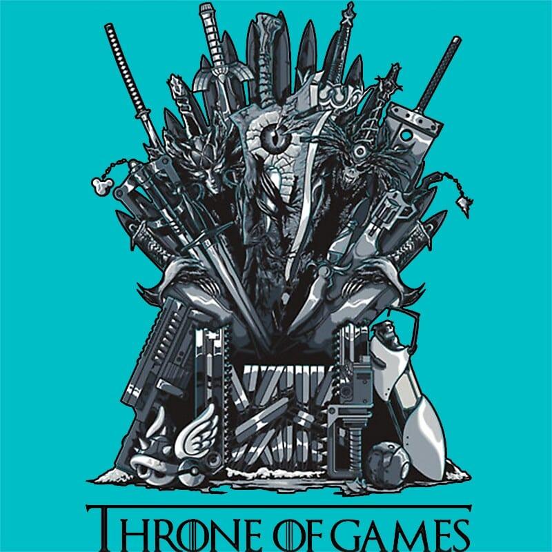 Throne of Games Póló - Ha Game of Thrones rajongó ezeket a pólókat tuti imádni fogod!