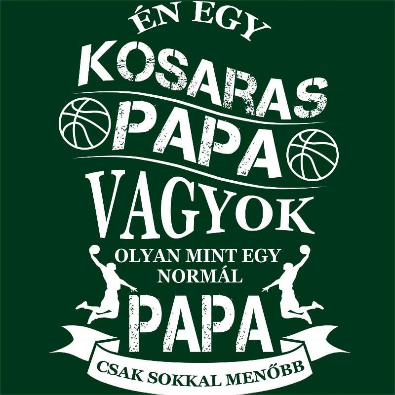 Kosaras Papa Póló - Ha Basketball rajongó ezeket a pólókat tuti imádni fogod!