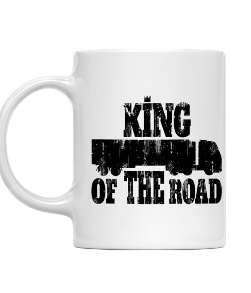 King of the Road Póló - Ha Truck Driver rajongó ezeket a pólókat tuti imádni fogod!