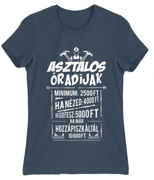 Asztalos Óradíjak Póló - Ha Carpenter rajongó ezeket a pólókat tuti imádni fogod!