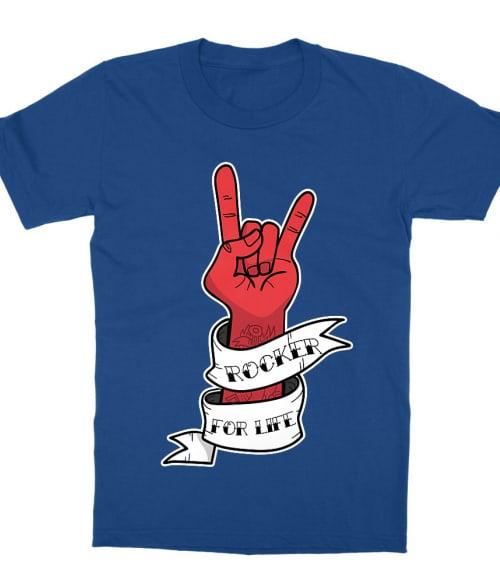 Rocker for Life Póló - Ha Rocker rajongó ezeket a pólókat tuti imádni fogod!
