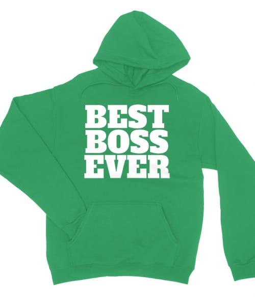 Best boss ever text Póló - Ha Boss rajongó ezeket a pólókat tuti imádni fogod!