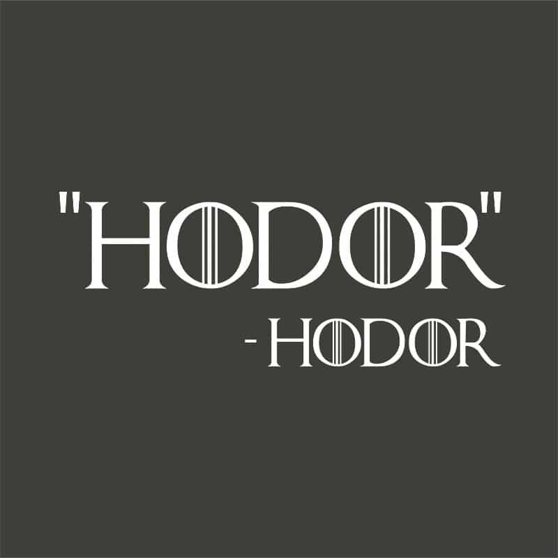 Hodor idézet Póló - Ha Game of Thrones rajongó ezeket a pólókat tuti imádni fogod!