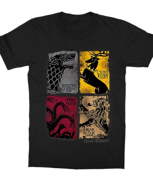 Game of Thrones Enemies Póló - Ha Game of Thrones rajongó ezeket a pólókat tuti imádni fogod!