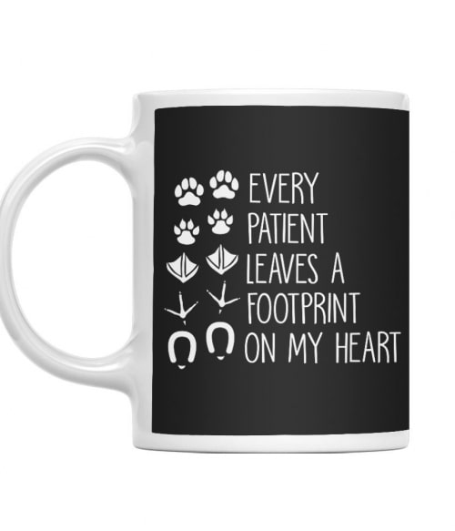 Every patient leaves a footprint on my heart Póló - Ha Veterinary rajongó ezeket a pólókat tuti imádni fogod!