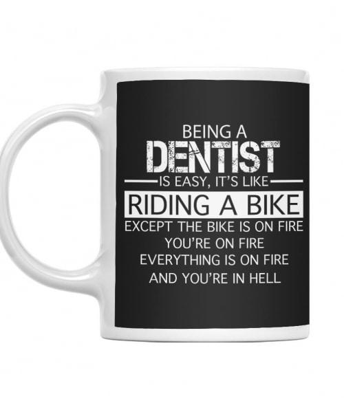 Being a dentist Póló - Ha Dentist rajongó ezeket a pólókat tuti imádni fogod!