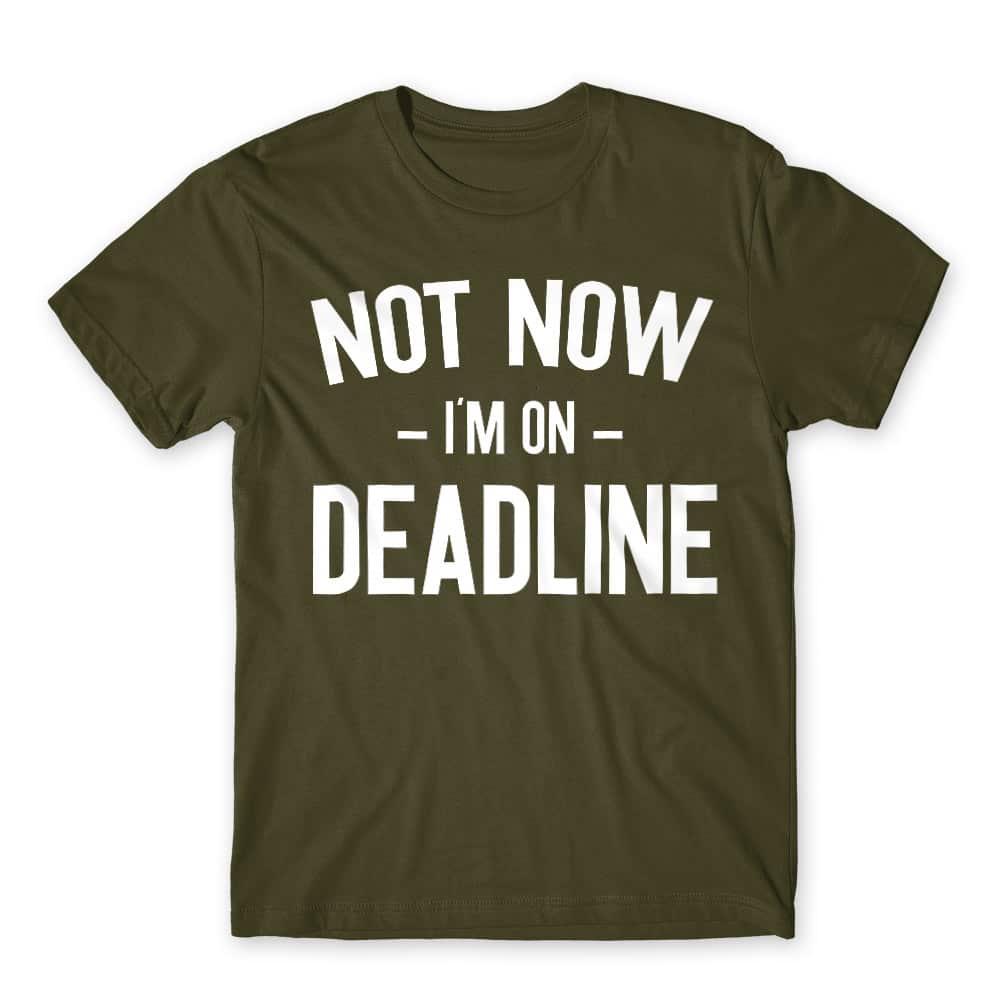I'm on deadline Póló - Ha Journalist rajongó ezeket a pólókat tuti imádni fogod!