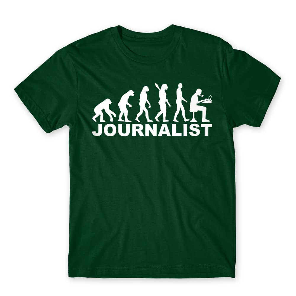 Journalist evolution Póló - Ha Journalist rajongó ezeket a pólókat tuti imádni fogod!