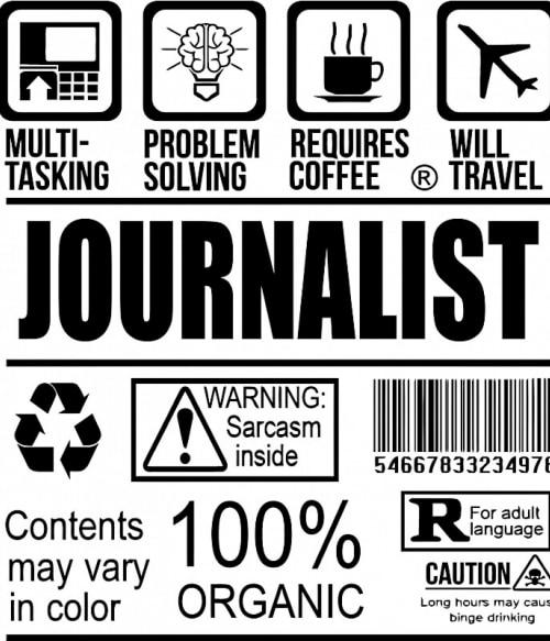 Journalist facts Póló - Ha Journalist rajongó ezeket a pólókat tuti imádni fogod!