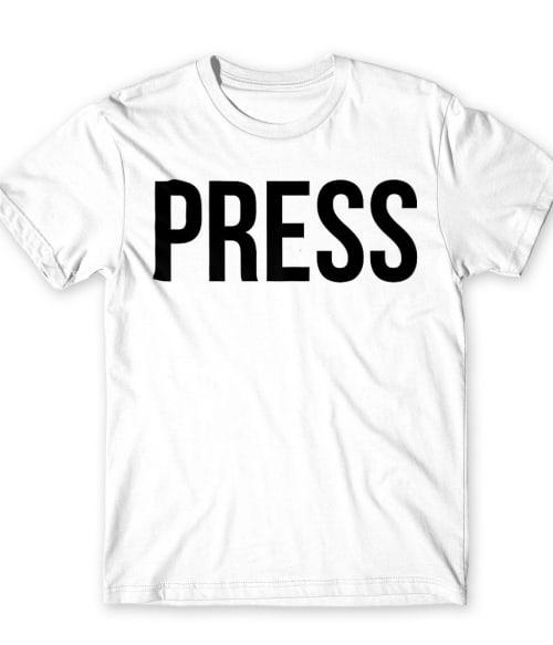 Press Póló - Ha Journalist rajongó ezeket a pólókat tuti imádni fogod!