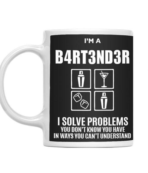 I'm a bartender Póló - Ha Bartender rajongó ezeket a pólókat tuti imádni fogod!