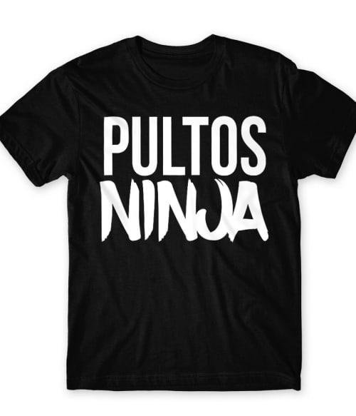 Pultos ninja Póló - Ha Bartender rajongó ezeket a pólókat tuti imádni fogod!