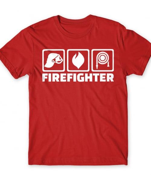 Firefighter icons Póló - Ha Firefighter rajongó ezeket a pólókat tuti imádni fogod!