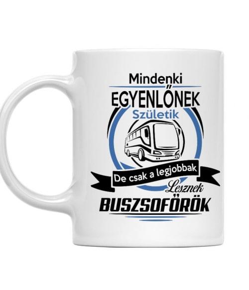 Mindenki egyenlőnek születik - Buszsofőr Póló - Ha Bus Driver rajongó ezeket a pólókat tuti imádni fogod!