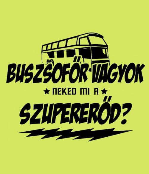 Buszsofőr vagyok
