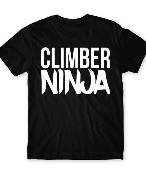 Climber ninja Póló - Ha Climbing rajongó ezeket a pólókat tuti imádni fogod!