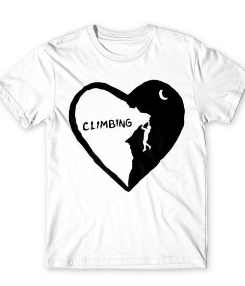 Climbing heart Póló - Ha Climbing rajongó ezeket a pólókat tuti imádni fogod!