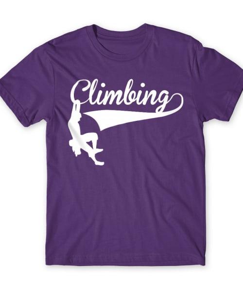 Climbing text Póló - Ha Climbing rajongó ezeket a pólókat tuti imádni fogod!