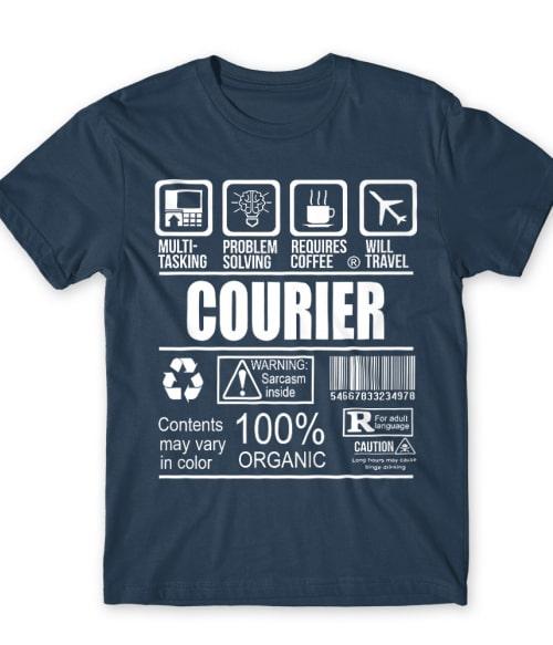 Courier facts Póló - Ha Courier rajongó ezeket a pólókat tuti imádni fogod!