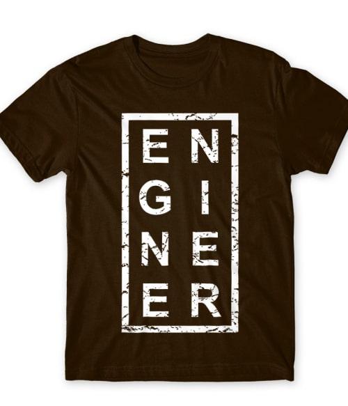 Engineer text Póló - Ha Engineer rajongó ezeket a pólókat tuti imádni fogod!