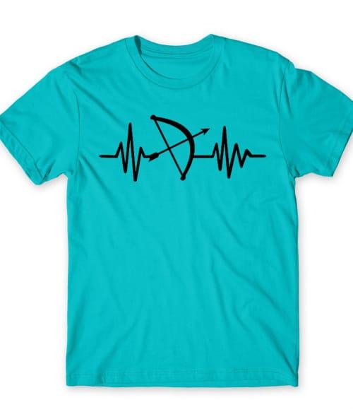 Archery heartbeat Póló - Ha Archery rajongó ezeket a pólókat tuti imádni fogod!