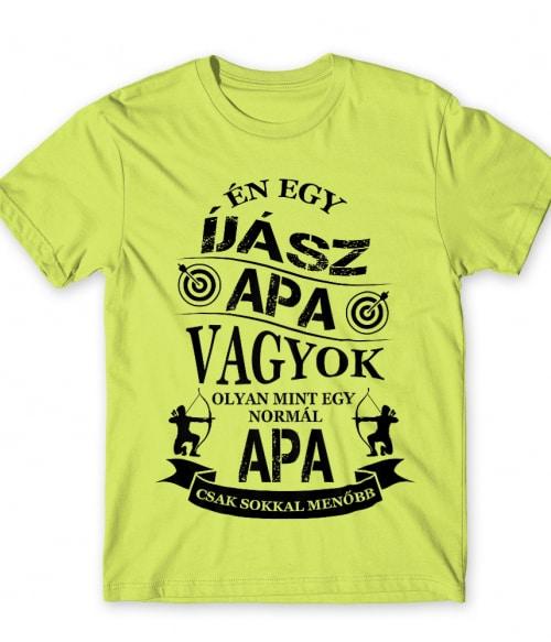 Íjász apa Póló - Ha Archery rajongó ezeket a pólókat tuti imádni fogod!
