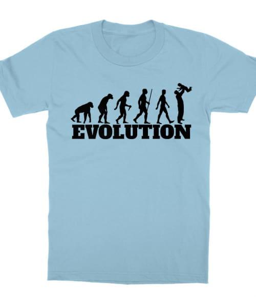 Dad evolution Póló - Ha Family rajongó ezeket a pólókat tuti imádni fogod!