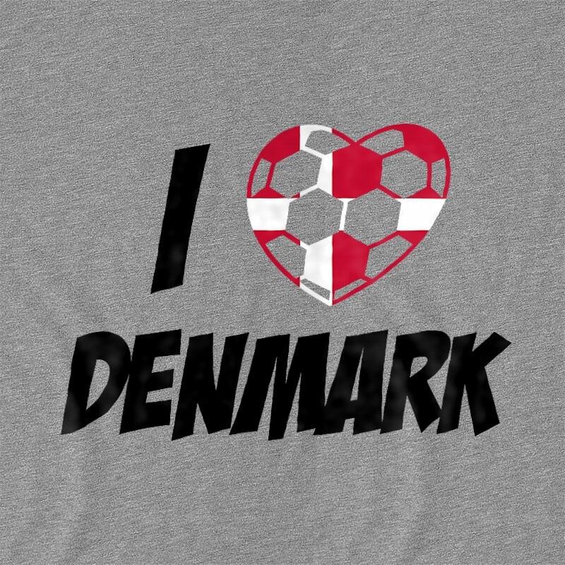 Football Love Denmark Póló - Ha Football rajongó ezeket a pólókat tuti imádni fogod!