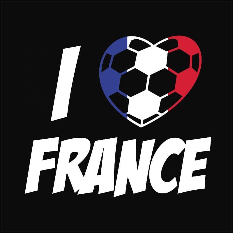 Football Love France Póló - Ha Football rajongó ezeket a pólókat tuti imádni fogod!