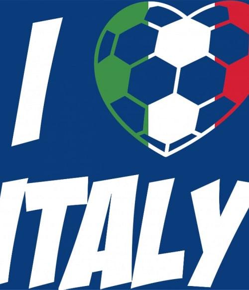 Football Love Italy Póló - Ha Football rajongó ezeket a pólókat tuti imádni fogod!