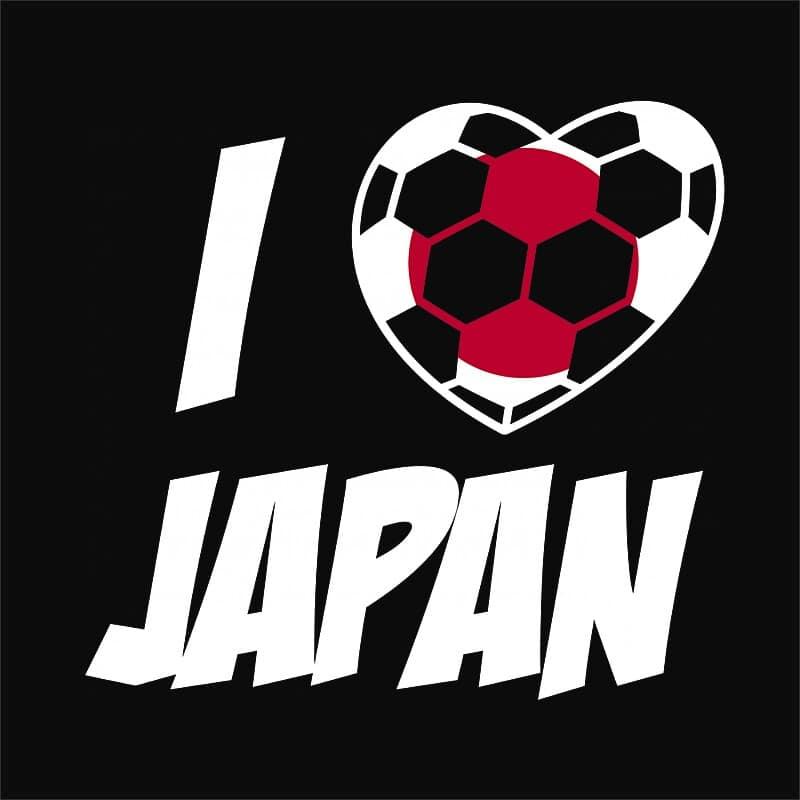 Football Love Japan Póló - Ha Football rajongó ezeket a pólókat tuti imádni fogod!