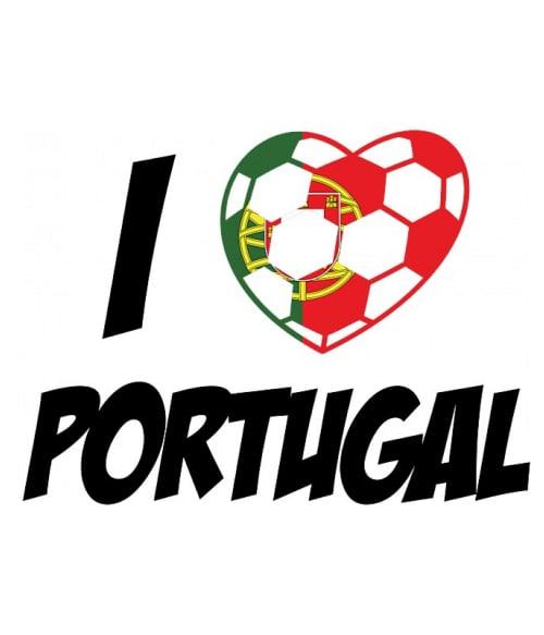 Football Love Portugal Póló - Ha Football rajongó ezeket a pólókat tuti imádni fogod!